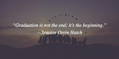 Short Graduation Quotes 25 Short Graduation Quotes – Create Your Own Future   EnkiQuotes Short Graduation Quotes