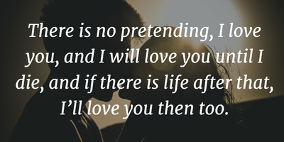 Pretending Love Quotes What Should You Really Do Enkiquotes