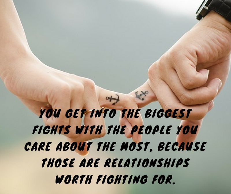 Fight For What You Love Quotes Custom Tell You Partner These Cute Lovely Quotes After Fights  Enkiquotes