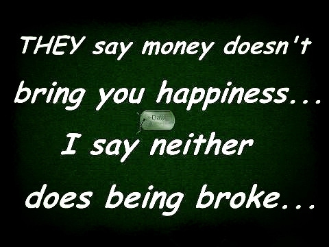 30 Quotes About Being Broke Enkiquotes