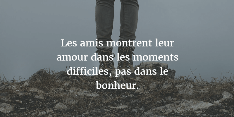French Quotes About Friendship Extraordinary Memorable French Quotes About Friendship  Enkiquotes