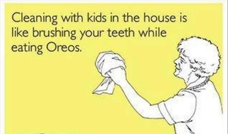Cleaning Quotes Fascinating Make Cleaning Fun With These Funny Cleaning Quotes  Enkiquotes