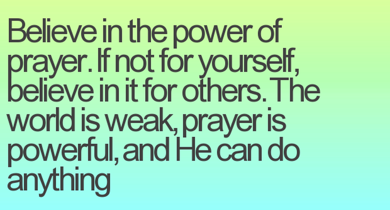 Prayer Quotes Enchanting Strengthen Your Belief With These Power Of Prayer Quotes  Enkiquotes