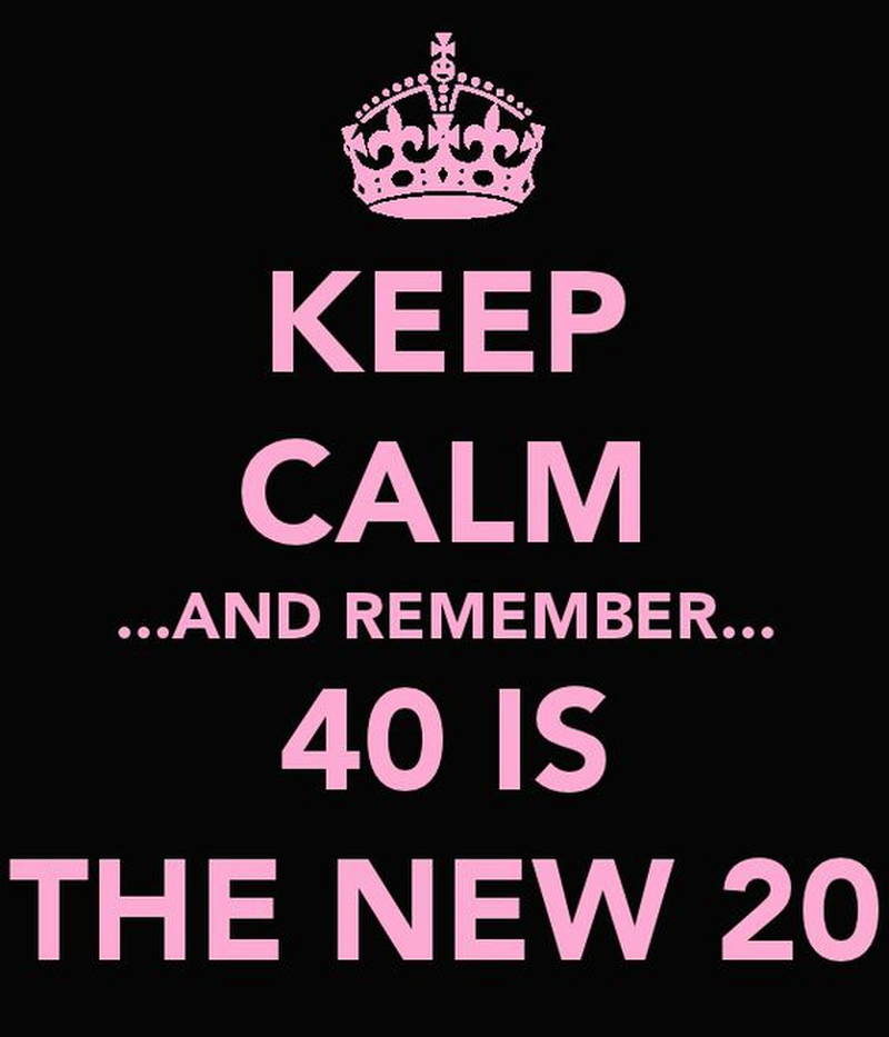 Turning 40 Quotes Beauteous 25 Interesting And Useful Quotes About Turning 40  Enkiquotes