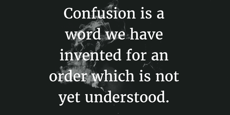 Life Love Quotes Stunning 25 Quotes About Confusion In Life Love And Feelings  Enkiquotes