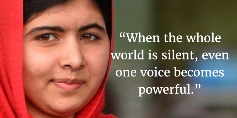 I Am Malala Quotes Amusing Top 20 I Am Malala Quotes That Will Make You Shocked  Enkiquotes