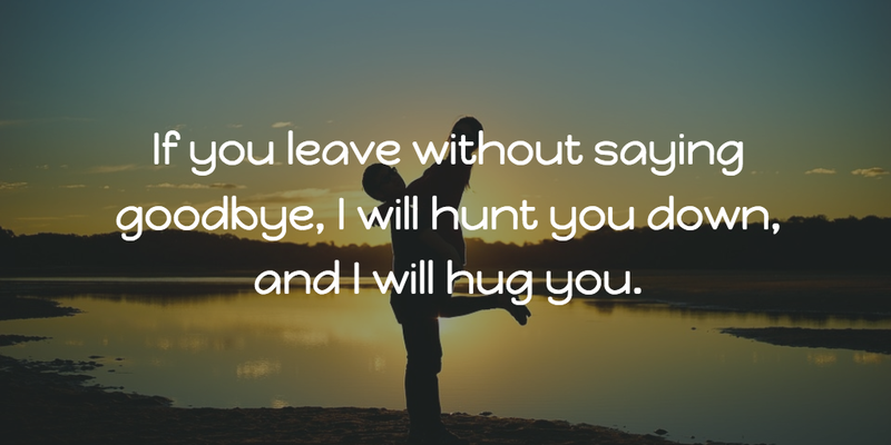 It Doesn't Have to Be Sad: Funny Goodbye Quotes - EnkiQuotes