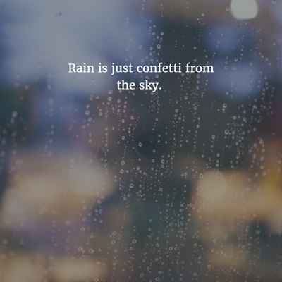 20 Funny Quotes On Rain For All Rain Lovers Enkiquotes