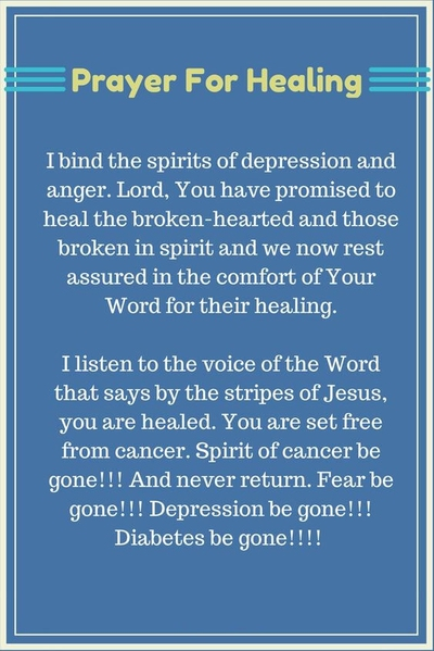 27 Most Soothing Healing Prayers Quotes - EnkiQuotes
