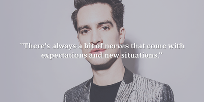 Brendon Urie Quotes 20 Great Brendon Urie Quotes   EnkiQuotes Brendon Urie Quotes
