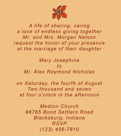 25 Romantic Wedding Invitation Quotes to Write on Your Wedding Card
