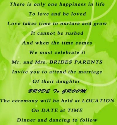 25 Romantic Wedding Invitation Quotes To Write On Your