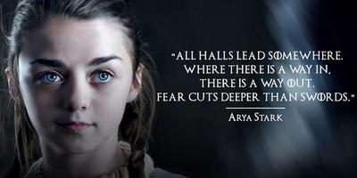 Arya Stark Is Tough As Nails