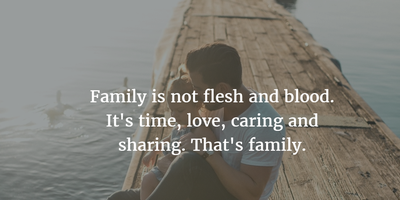 25 Thought Provoking Quotes About Family Not Being Blood Enkiquotes