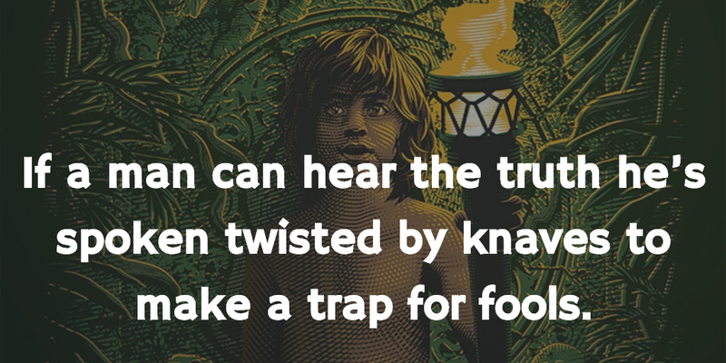 Jungle Book Quotes Fair Jungle Book Quotes To Make Everyone Think A Lot  Enkiquotes