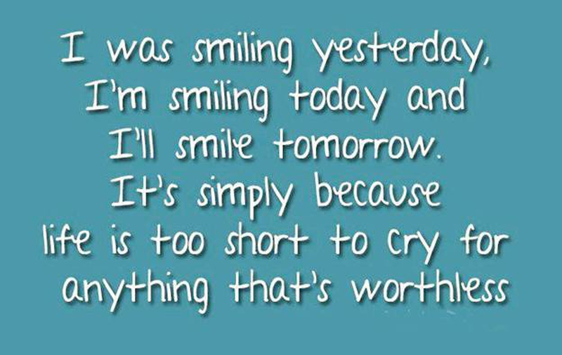 Short Quotes About Being Happy Classy 25 Best Quotes About Smiling And Being Happy  Enkiquotes