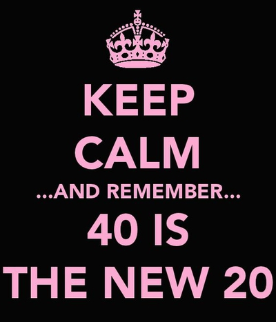 Turning 40 Quotes 25 Interesting and Useful Quotes About Turning 40   EnkiQuotes Turning 40 Quotes
