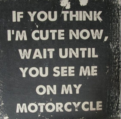 Let S Have A Joy Ride With These Funny Motorcycle Quotes Enkiquotes