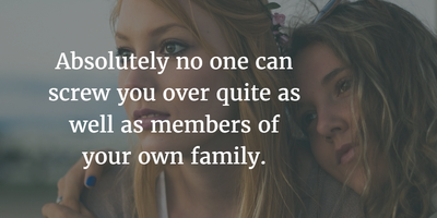 Learn Some Facts From These Dysfunctional Family Quotes Enkiquotes