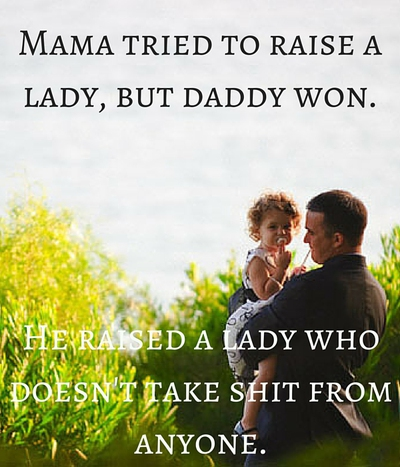 20 Quotes About Daddy\'s Little Girl - EnkiQuotes