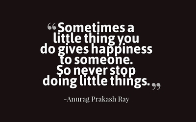 22 Finding the Joy in Little Things Quotes - EnkiQuotes